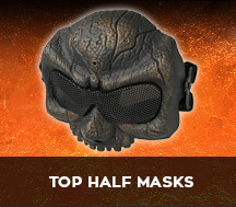 top half face mask