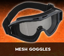 mesh airsoft goggles