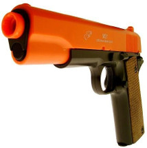 Double Eagle M21 WW2 Style 1911 Pistol in Orange