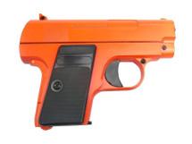 Galaxy G9 Colt 25 replica Full Metal Pistol in orange