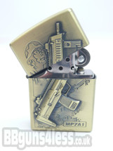 Oil Lighter with Heckler & Koch MP7 A1 imprint