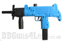 M35L spring machine Pistol Two-Tone blue