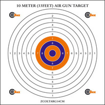 SMK BB Gun Card Target - 10m (33ft) 100pc x 14cm