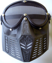 Force-War low-velocity mesh mask