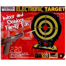 Swiss arms electric target for up two bb gun players