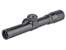 2X20 bb gun pistol scope in black