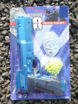 City police tactical play set with police badge