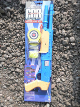 City police tactical play pump action shot gun set with targets