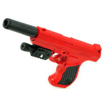 Vigor P9A Spring pistol with laser in Red