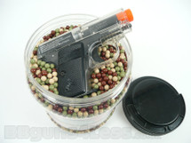 Ultrasonic BBs Pellets 10000 x 0.12g Camo with free colt 25 BBgun