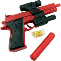 P190B Pistol bb gun with laser