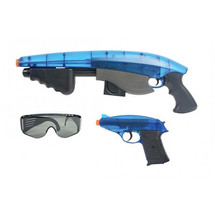 cyber stryke blaster pump action pistols & glass