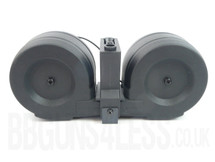 SRC hi cap 2300 Round Electrical Drum Mag For M4's