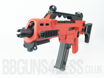 SRC SR36 AEG Pro G36 Replica Fully Auto in Two Tone Orange