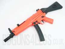 SRC SR5A4 Pro MP5 AEG fully auto in Two Tone orange