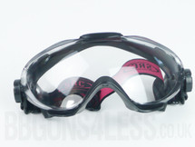 Anti Fog Airsoft BBgun tactical goggles in black from src