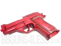 Yulong 083 berreta style pistol in metallic red