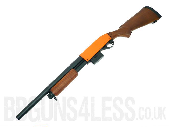 Bison C401b Tactical Bb Gun Pump Action Shotgun Bbguns4less