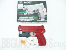 GYF A-087 pistol Flashing light and laser in red