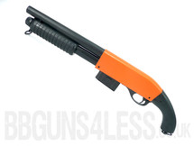 Bison C501C BB gun pump action Shotgun in Orange