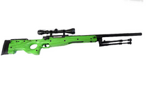 well mb01 green spring sniper rifle