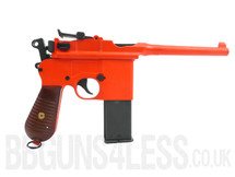 HFC HG-196 Mauser box cannon Gas powered airsoft pistol