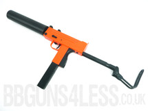 HFC HGA-203 ob uzi gas powered BB gun in orange