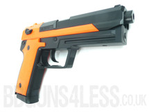 HFC HGC-305 Gas powered BB gun pistol in orange