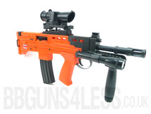 HFC HA2110 l85 SA80 carbine BB gun in orange