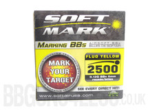 Soft Mark bb pellets 2500 x 0.12g fluo in box
