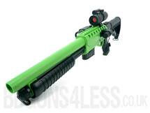 Double Eagle M47D UTG Tactical pump action in green