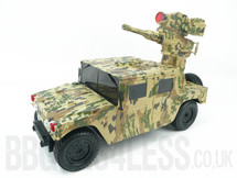 R/C Electric hummer Humvee Battle Vehicle that shoots