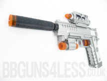 Kids Toy gun pistol with infra red light lx3100