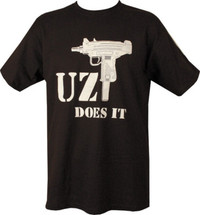Uzi T-Shirt - Uzi Does It