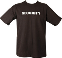 Security T-Shirt - in black
