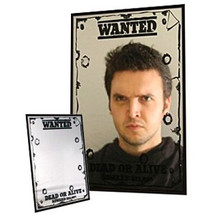 Wanted Dead Or Alive Mirror