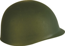 M1 Plastic Helmet in green
