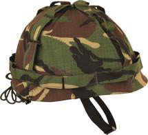 M1 Plastic Helmet & Cover in british  DPM
