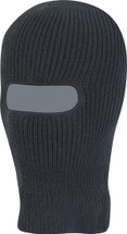 Open Face Balaclava - Black