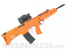 HFC L85 SA 80 replica bb gun Rifle in orange