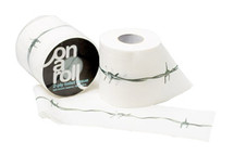 Toilet Roll with Barbed Wire Design