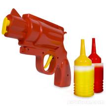 Condiment Gun red or brown sauce dispenser