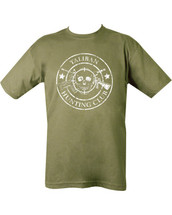Taliban Hunting Club T-shirt - Olive Green