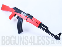 SRC SR47 AEG Pro ak47 Replica fully auto in Two Tone orange
