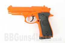 CYMA ZM18 Metal BB Gun Spring Pistol in orange