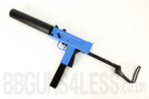 HFC HGA 203 ob gas powered BB gun in blue