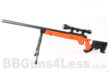 Well MB04 BB gun Sniper Rifle with Scope & Bipod