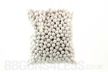 Ultrasonic bb pellets 1000 X 0.20 white in a bag