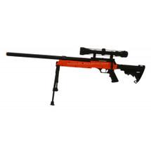 Well MB06 BB Gun Sniper Rifle with Scope & Bipod in Orange