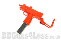 Cyma P815  MAC 10 BB Gun With safety glasses in red